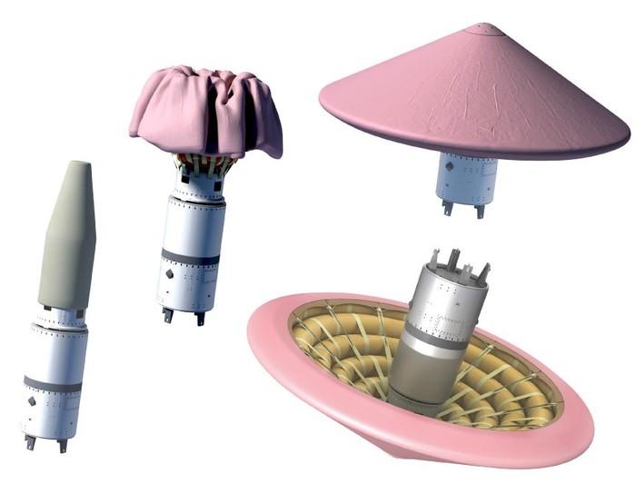 Состоялся тестовый полет надувного космического щита IRVE-3