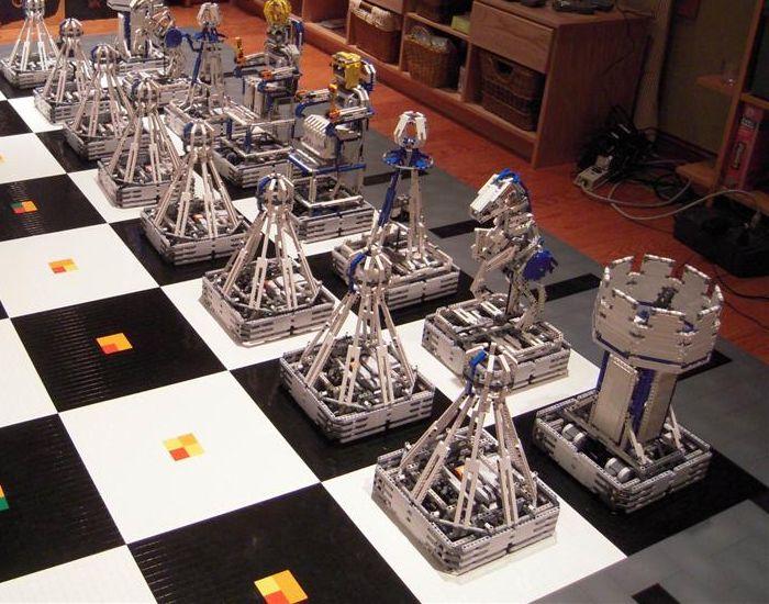 Monster chess роботизированные шахматы