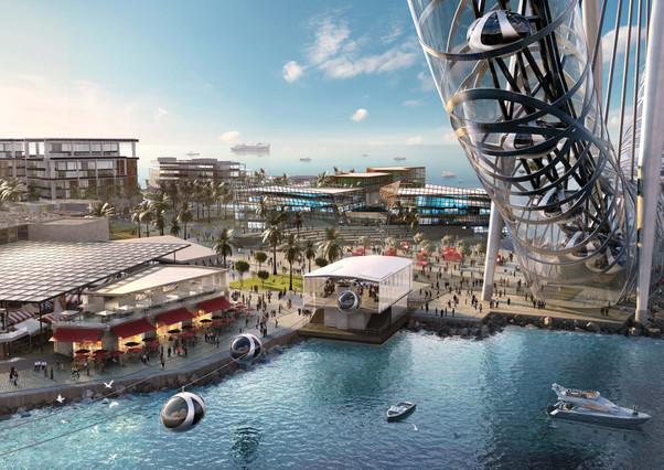 Проект самого высокого колеса обозрения в Дубаи