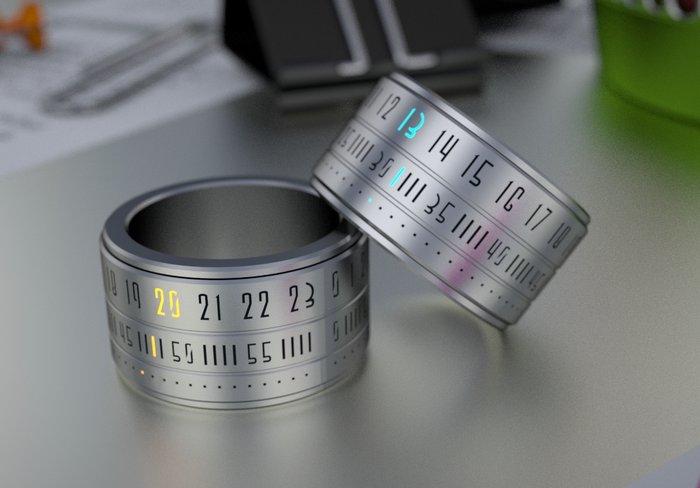 Ring Clock - часы одетые на палец | Новости технологий