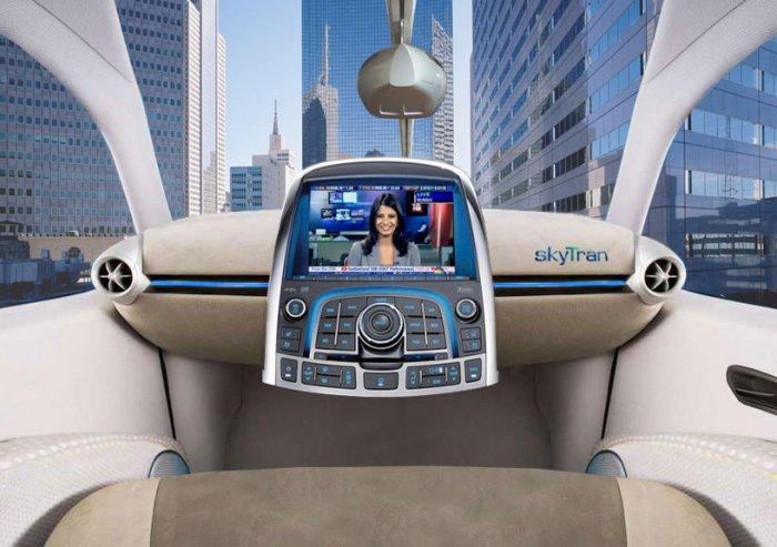 SkyTran - скоростной городской транспорт на магнитной подвеске   Новости технологий
