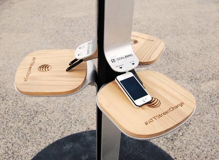 Street Charge - солнечные электростанции для подзарядки мобильных устройств