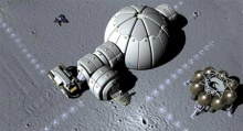 Лунная база для астронавтов