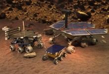 Космический робот - FIDO Rover