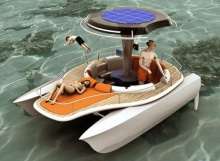 Водные велосипеды на солнечной энергии
