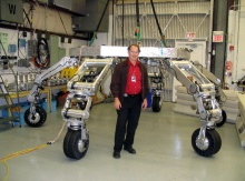 ATHLETE - грузоподъемные роботы в космосе