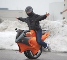 Uno - удивительный мотоцикл