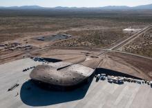 Spaceport America - открылся первый частный космопорт