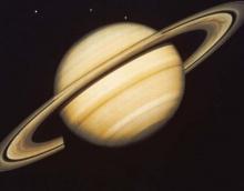Гигантские ураганы на  полюсах Сатурна