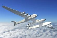 Roc Stratolaunch Systems - самый большой самолет для запуска ракет в космос