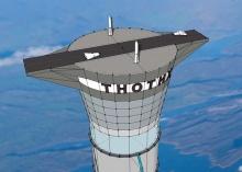 Thothx - проект 20-километровой надувной башни