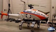 Роботизированное вертолетное шасси для посадки на сложной местности