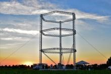 Big Delta - 3D-принтер печатающий дом