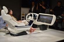Volvo Concept 26 - дизайн внутреннего салона будущих робомобилей
