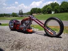 Hubless Monster - мотоцикл с безосевыми колесами