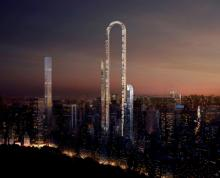 The Big Bend - проект самого длинного небоскреба в мире