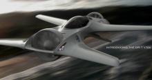 Проект двухместного летающего автомобиля DR-7