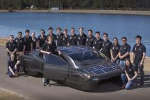 Sunswift Violet - уникальный электромобиль  на солнечных батареях