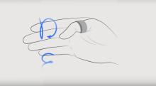 Fingersound - ответ на SMS с помощью кольца на пальце