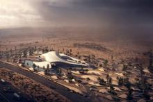 Архитектура в стиле песчаной дюны Zaha Hadid