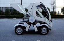 В Японии представлен первый электрический автомобиль-трансформер Earth-1