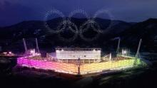1218 дронов на Олимпиаде в Южной Корее