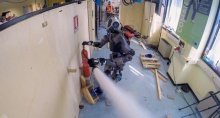 Гуманоидный робот–пожарный WALK-MAN