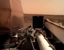 "На Марсе начал работу научный аппарат NASA ""InSight"""