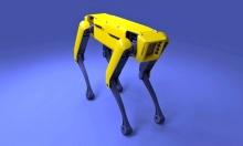 Буксировка грузовика четвероногими роботами компании Boston Dynamics