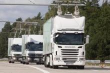 В Германии запустили электрическое шоссе для электрогрузовиков