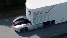 Беспилотный грузовик Vera приступил к работе в шведском порту