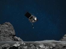 Космический аппарат НАСА OSIRIS-REx успешно собрал образцы грунта с астероида Бенну