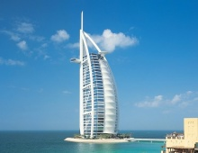 Бурдж-эль-Араб - отель-парус