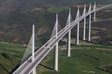 Виадук Мийо - мост с самыми высокими опорами