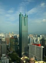 Башня Сёньхин - небоскреб из стали