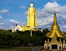 Лечжун-Сасачжа - самые высокие статуи