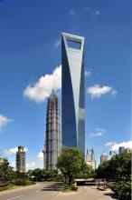 Шанхайский всемирный финансовый центр — самые высокие небоскребы