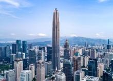 Международный финансовый центр Пинань - самые высокие небоскребы