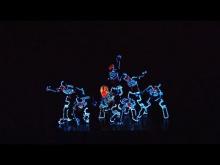 Embedded thumbnail for Шоу в световых костюмах