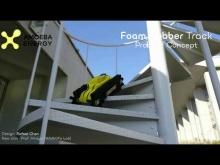 Embedded thumbnail for Гусеничный робот-курьер японской компании Amoeba Energy