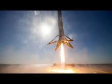 Embedded thumbnail for Спуск отработанной ступени Falcon 9 на баржу