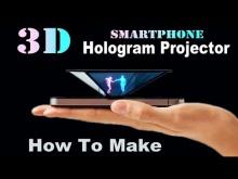 Embedded thumbnail for Голограмма на мобильном телефоне