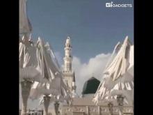 Embedded thumbnail for Гигантские зонты в Медине (Саудовской Аравии)